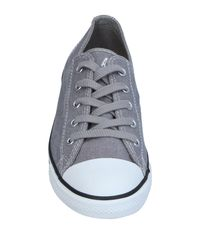 Converse Gray Low-tops & Sneakers