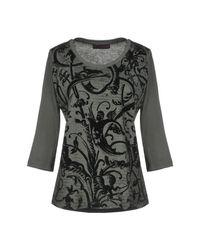 Trussardi Gray T-shirt