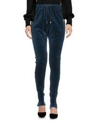 Alexandre Vauthier Blue Casual Trouser