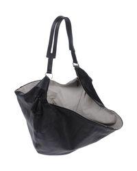 The Row Black Shoulder Bags