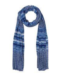 Missoni Blue Oblong Scarf