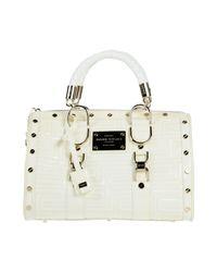 Gianni Versace Couture White Handbag