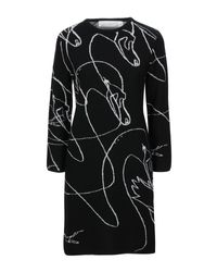Victoria, Victoria Beckham Black Short Dress