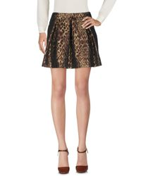 Guess Brown Mini Skirt