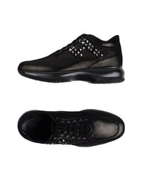 Sneakers & Tennis basses Hogan en coloris Black