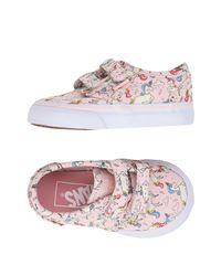 Vans Pink Low-tops & Sneakers