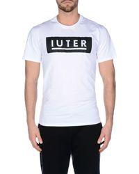 Iuter - Black T-shirt for Men - Lyst