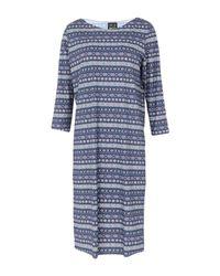 Irie Wash Blue Knielanges Kleid