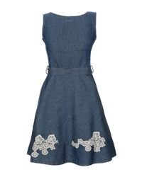 Robe courte Liu Jo en coloris Blue