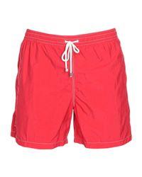 Fiorio Red Swimming Trunks for men