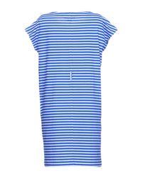 MiH Jeans - Blue Short Dress - Lyst