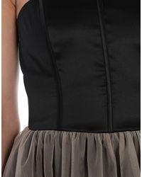 Vestido por la rodilla Brunello Cucinelli de color Black