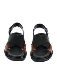 Marni Black Sandale