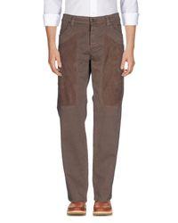Pantalone di Jeckerson in Brown da Uomo