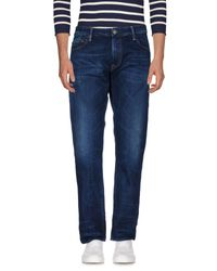 HTC Blue Denim Pants for men