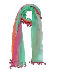 Space Style Concept Green Scarf