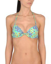 Verdissima - Green Bikini Top - Lyst