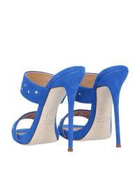Sandalias Giuseppe Zanotti de color Blue