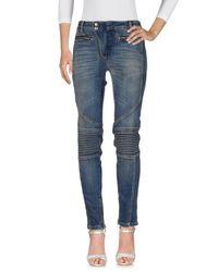 Just Cavalli Blue Denim Trousers