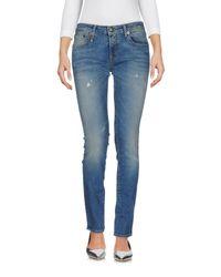 R13 Blue Denim Trousers