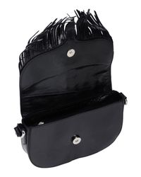 Bolso con bandolera Just Cavalli de color Black