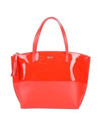Tosca Blu Red Handbag