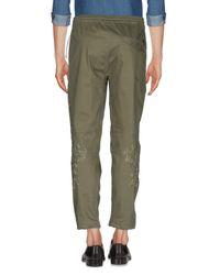 Pantalones Maharishi de hombre de color Green