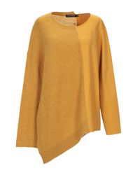 Pullover European Culture de color Yellow
