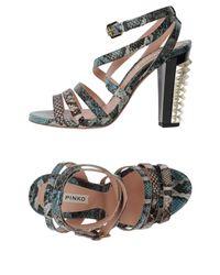 Pinko Blue Sandals