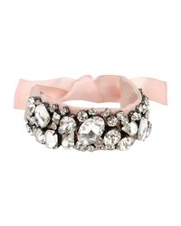 Tara Jarmon Pink Bracelet