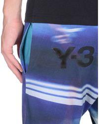 Y-3 Purple Leggings for men
