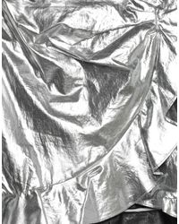 Mini-jupe Isabel Marant en coloris Metallic