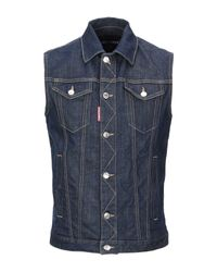 Capospalla jeans di DSquared² in Blue da Uomo