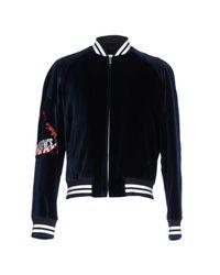 Maison Margiela Blue Jacket for men