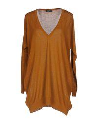 Soallure Brown Sweater