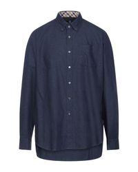 Camicia di Aquascutum in Blue da Uomo