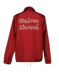Maison Kitsuné Red Jacket for men