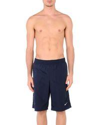 Nike Blue Swim Trunks for men