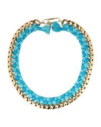 Aurelie Bidermann Blue Necklaces