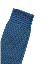 Socquettes Missoni pour homme en coloris Blue