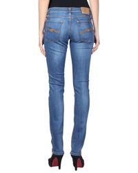 Nudie Jeans Blue Denim Pants