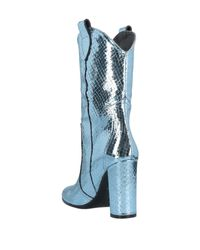 Paris Texas Blue Stiefelette