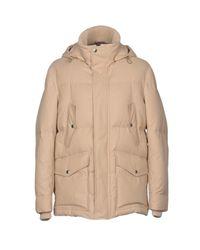 Brunello Cucinelli Natural Down Jacket for men