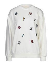 ViCOLO White Sweatshirt