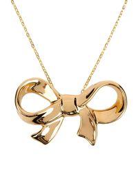 Cor Sine Labe Doli Metallic Necklace