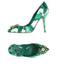 Dolce & Gabbana Green Pump