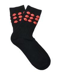 Calcetines cortos BENEDICT de color Black