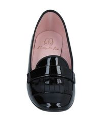 Pretty Loafers Black Mokassin