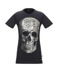 T-shirt Philipp Plein pour homme en coloris Black