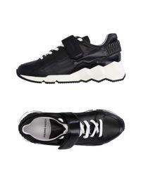 Pierre Hardy Black Low-tops & Sneakers for men
